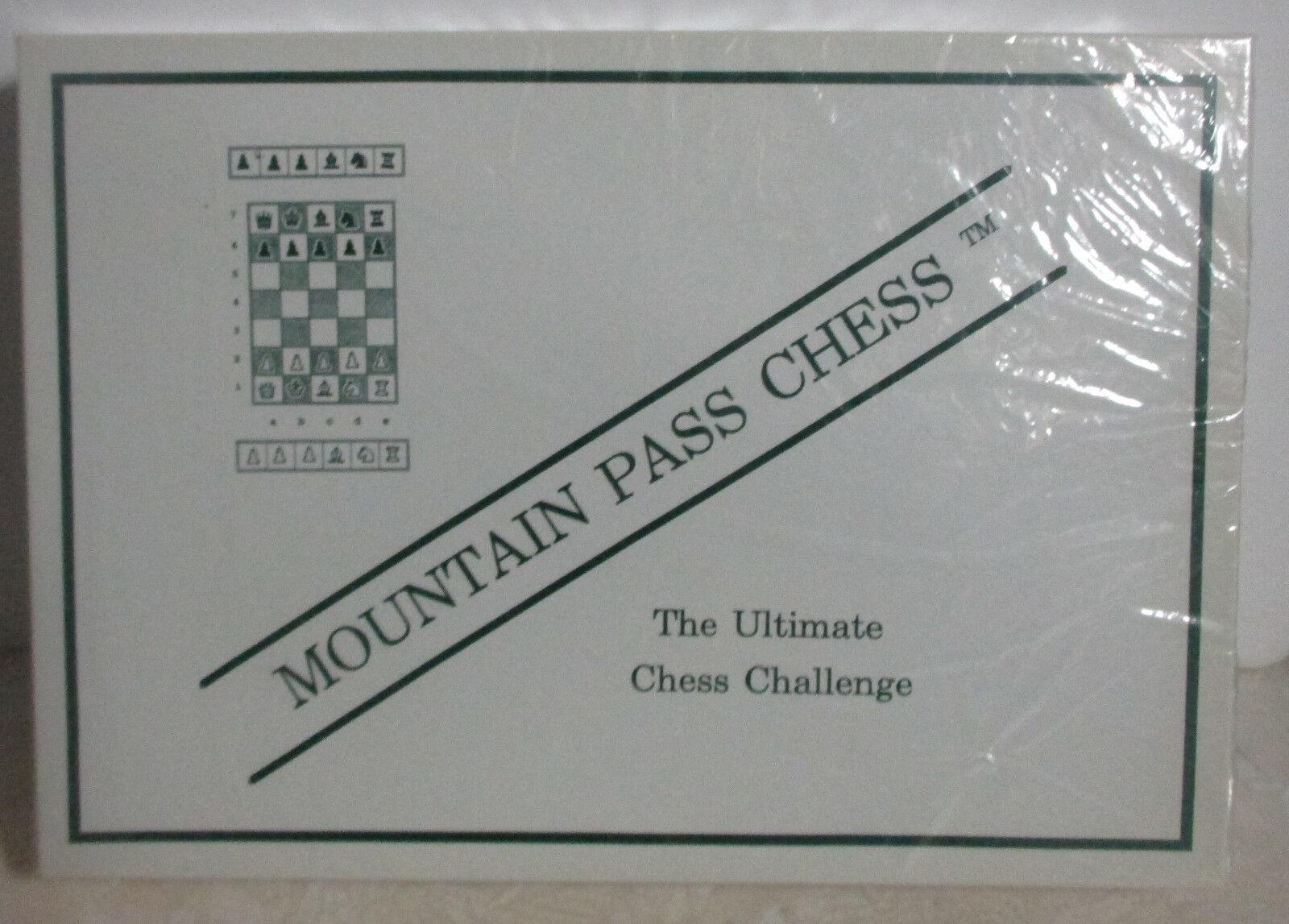 Sconto del 70% a buon mercato Mountain Mountain Mountain Pass Chess Chtuttienge SEALED  vendita calda online