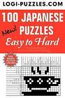 100 Japanese Puzzles - Easy to Hard by Logi Puzzles (Paperback / softback, 2012)