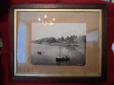 "Altes, Originales, Maritimes Foto ( Um 1900 ! ) "" South Parade, Deal. "" Kent ? Ungleiche Leistung"