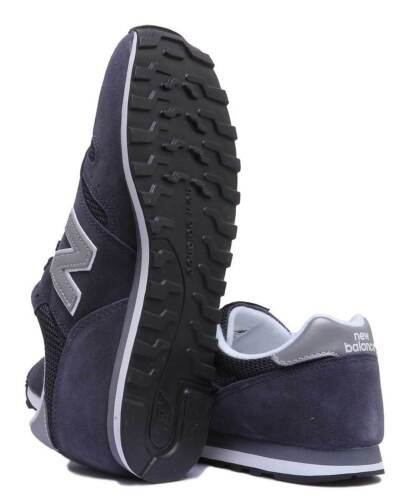 and Balance Uk Womens 8 Suede 373 New Trainers Size Navy Silvr Silver 3 Ml373nay wXdqtzg