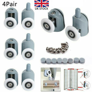 Set of 8 Replacements Shower Door ROLLERS //Runners //Wheels 25mm Wheel