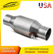 25 Ceramic Core Universal Cat Catalytic Converter Epa Witho2 Sensor Port