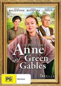 Anne-Of-Green-Gables-DVD-Martin-Sheen-Sara-Botsford-Region-4-NEW-SEALED