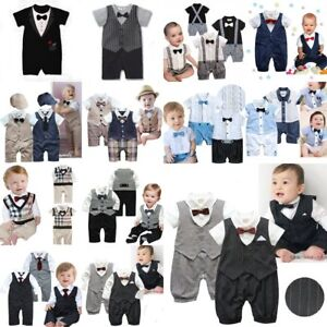 Baby-Boy-Wedding-Christening-Formal-Party-Tuxedo-Suit-Dress-Outfit-Clothes-0-24M