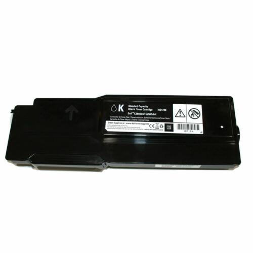 Genuine Dell HD47M Black Toner Cartridge C2660dn C2665dnf Printer new