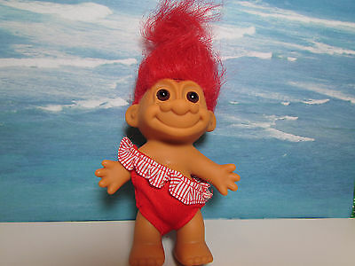 "SWIM / BATHING SUIT - 5"" Russ Troll Doll - NEW IN ORIGINAL WRAPPER"
