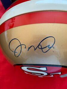 Joe Montana signed San Francisco 49er's  Full Size Steiner COA Helmet