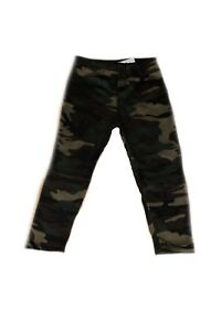 a35d49199ddc83 Image is loading Girls-Camouflage-Leggings-Kids-Childrens-Camo-Trousers-Full -