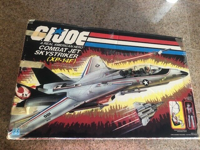 Gi Joe Skystriker XP-14F (sólo Caja Vacía) 1983
