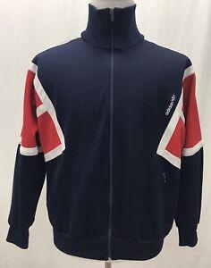 Vtg Adidas Jacket Blue Red White Karlsdorf Horst Mayer Metzgerei