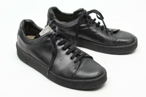EYTYS Ace Mens Fashion Sneakers 42 8.5 Black Leath