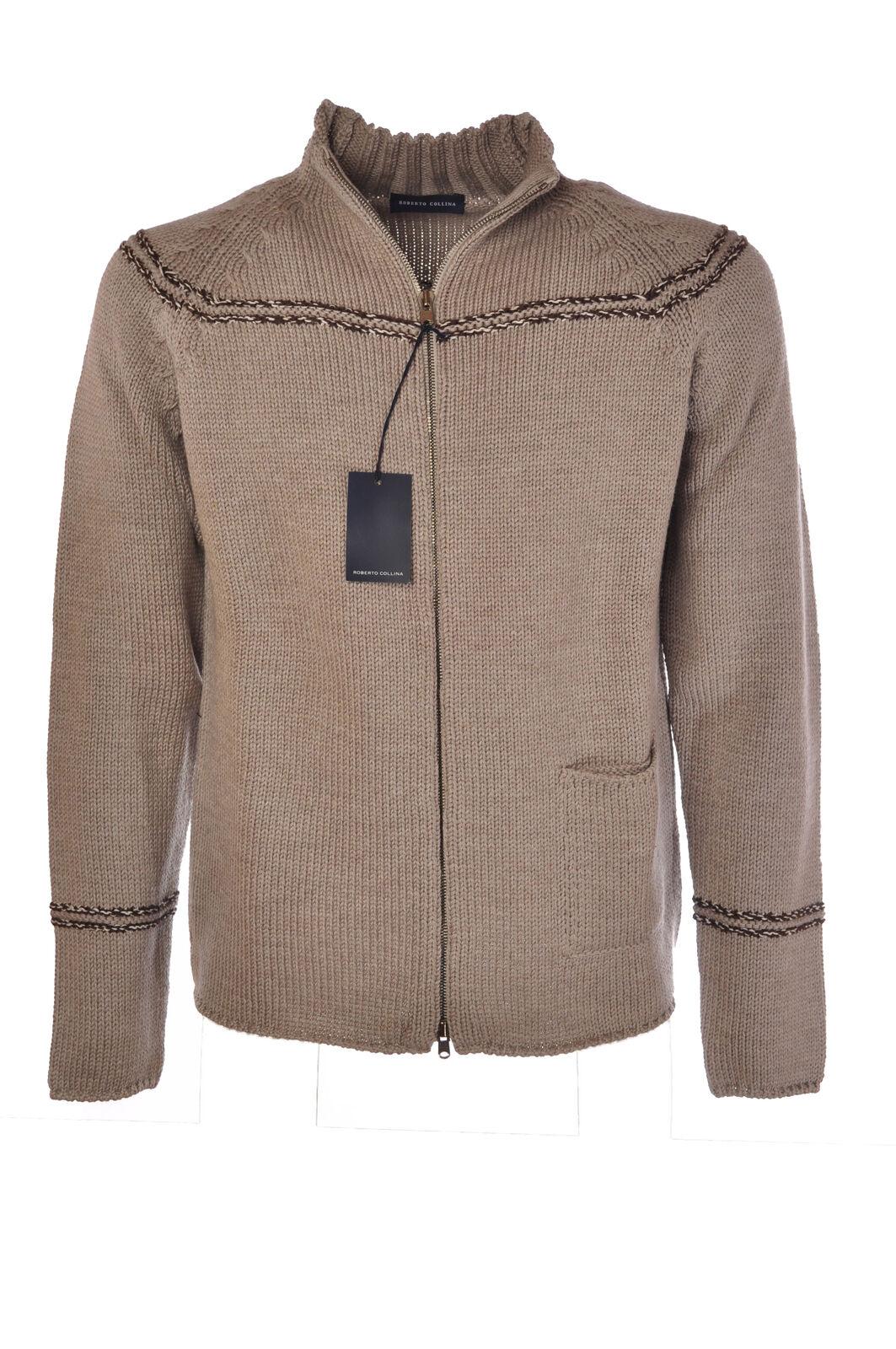 Roberto Collina  -  Sweaters - Male - grau - 2786030N173906