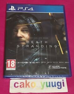 DEATH STRANDING PS4 SONY PS4 NEUF SOUS BLISTER VERSION 100% FRANCAISE