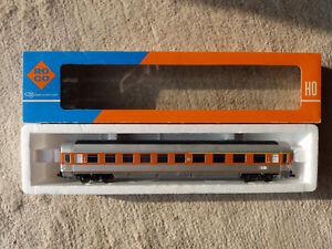 Roco 4273 (44413) Schnellzugwagen 1./2. Klasse DB HO OVP silber-orange - Stuttgart, Deutschland - Roco 4273 (44413) Schnellzugwagen 1./2. Klasse DB HO OVP silber-orange - Stuttgart, Deutschland