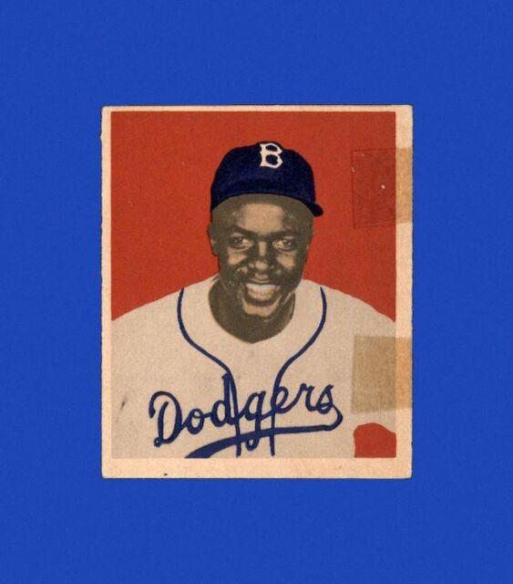 1949 Bowman Set Break # 50 Jackie Robinson LOW GRADE (tape) *GMCARDS*