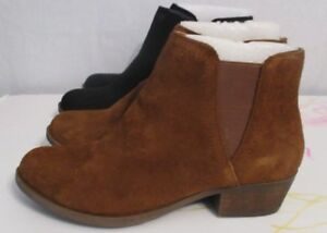 8c70507e416 NEW! Kensie Women s Suede Short Heel Boot VARIETY SIZES AND COLOR ...