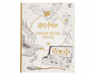 Harry Potter Colouring Book By Warner Brothers Paperback 2015