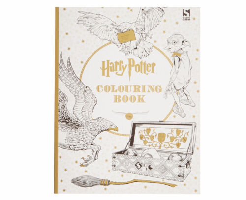 1 of 1 - Harry Potter Colouring Book by Warner Brothers (Paperback, 2015)