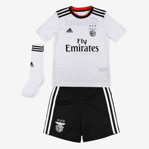 new concept fa934 5e405 Details about NEW SLB Sport Lisboa e Benfica - Portugal 2018/2019 Away  Jersey White