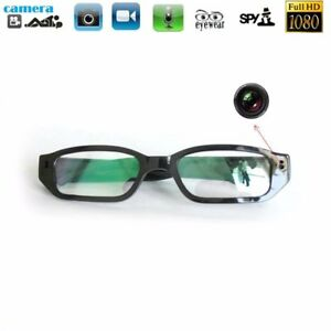 a0cda4eef54f Full HD 1080P Spy Glasses Hidden Camera Security DVR Video Recorder ...