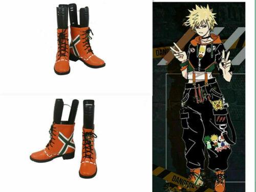 My Hero Academia Bakugou Katsuki Shoes Men/'s Cosplay Shoes Comic HH