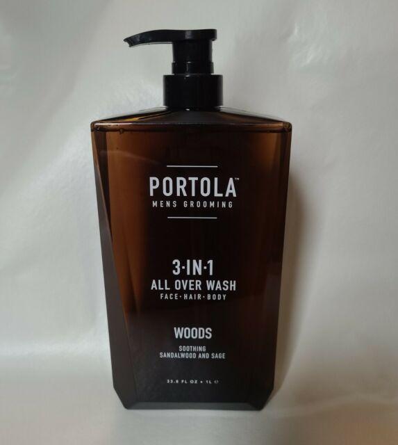 Portola Mens Grooming 3 N 1 All Over Wash Woods Sandalwood Sage 33 8 Oz For Sale Online Ebay