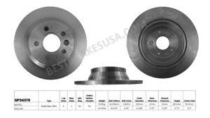 Disc-Brake-Rotor-fits-2007-2011-Volvo-S80-BEST-BRAKES-USA