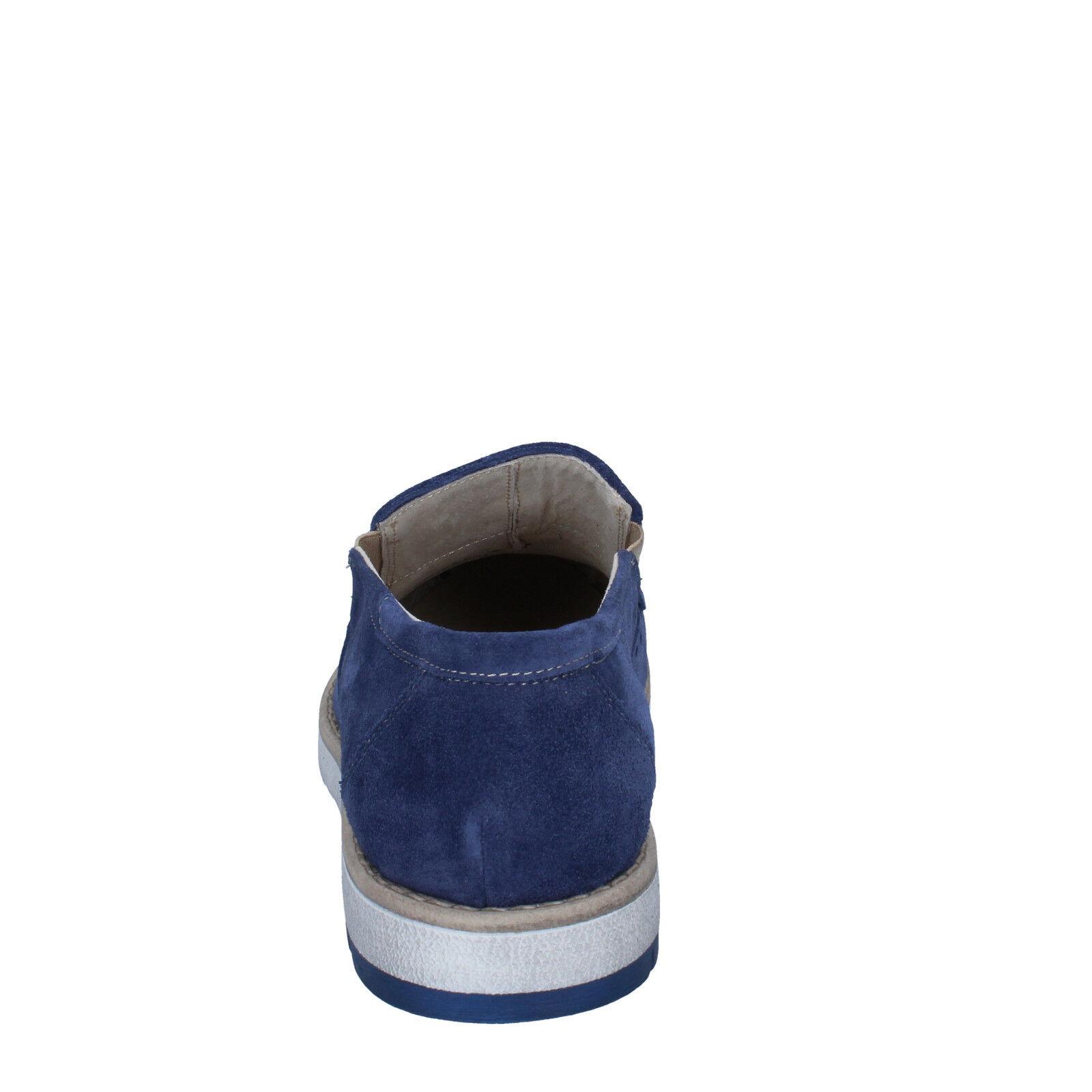 Uomo schuhe KEP'S 10 (EU 44) elegant Blau suede suede suede BZ886-F f9a4ed