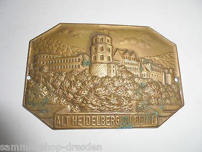 Ehrgeizig 27084 Alt Heidelberg Du Feine Studenten Plakette Medaille Bronze 5 X 8 Cm Produkte Werden Ohne EinschräNkungen Verkauft