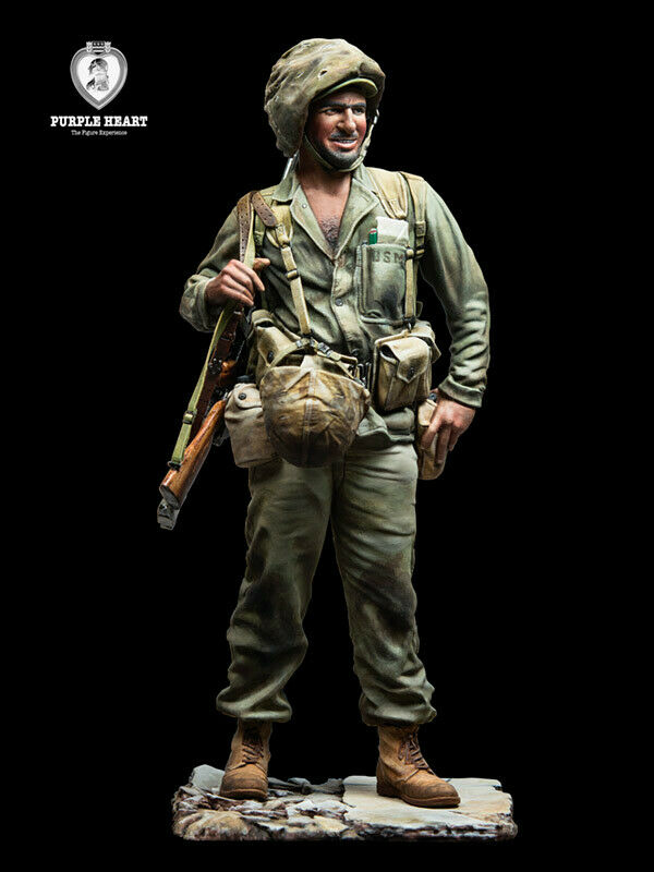 Andrea Mins Purple Heart US Marine 1945 WW2 120mm 1 16th Unpainted kit
