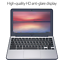 """thumbnail 2 - ASUS Chromebook C202SA-YS02 11.6"""" Ruggedized and Water Resistant Design with 180"""