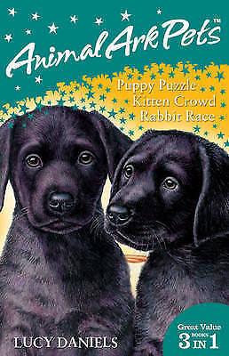 1 of 1 - Animal Ark Pets Bind Up 1-3: Books 1-3: Puppy Puzzle / Kitten Crowd / Rabbit...