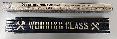 """""""working Class"""" Arti Scala/pollici Bastone Di Legno Di Faggio, 2m-/ Zollstock Aus Buchenholz, 2m It-it Mostra Il Titolo Originale Distintivo Per Le Sue Proprietà Tradizionali"""