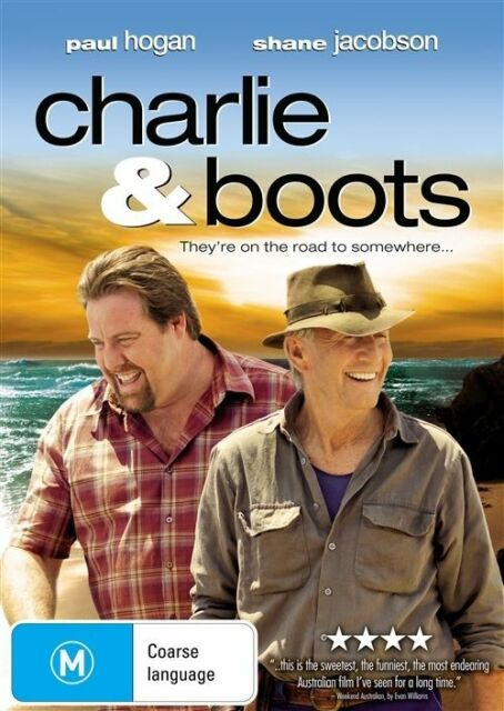 Charlie & Boots (DVD) Region 4 Very Good Condition