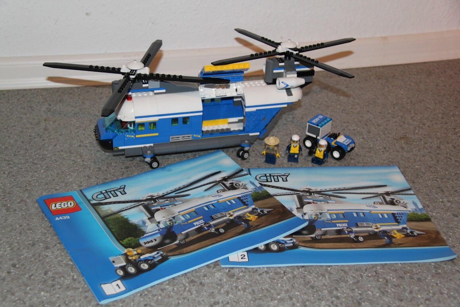 Lego City Polizei Hubschrauber Set 4439 gepflegt gepflegt gepflegt sauber und vollständig 8b5ba5