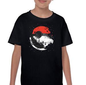 75d80089 Pokemon Death Star - Kids Funny Parody T-Shirt Darth Vader Go Yoda ...