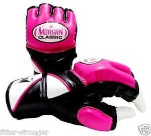 Details about MORGAN LADIES MMA Gloves Boxing Muay Thai UFC WOMENS Sparring  Cross Training NEW
