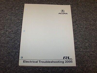 2005 Acura RL Sedan Electrical Wiring Troubleshooting ...