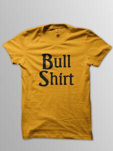 ed352a042 Bull Shirt T Shirt 80's Lenny Simpsons Retro Vintage | eBay