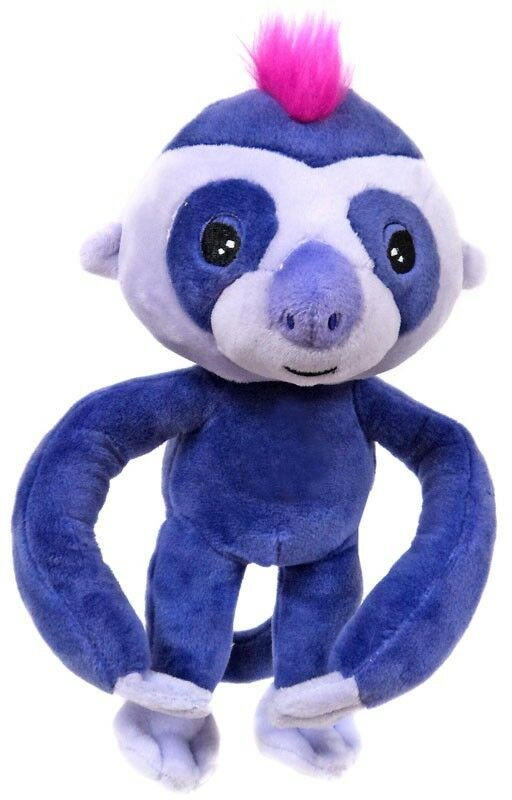 Fingerlings lila Baby Sloth 10-Inch Plush with Sound