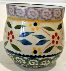 Temp-tations By Tara Mug Cup Old World Blue 12 Oz. Coffee/Tea Mug QVC 6 Pieces