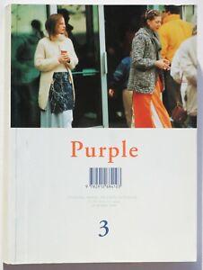 Purple 3 1999 Fashion 7 Martin Margiela Hermes Balenciaga Jil Sander 90s vintage