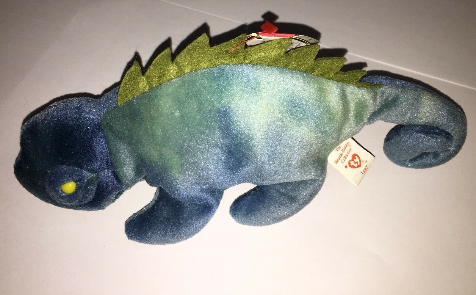 Ty Beanie Baby Iggy 1997 Retired With Tag Errors