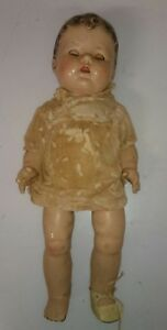 Gorgeous-Ultra-Rare-Baby-Antique-Doll-1900-1930