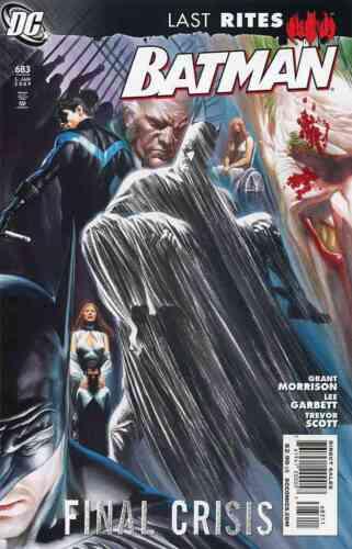 BATMAN #683 NEAR MINT 2009 DC COMICS LAST RITES FINAL CRISIS