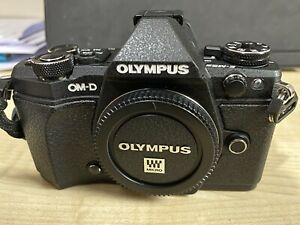 Olympus-OM-D-E-M5-Mark-II-Digital-Camera-Body-Only-Black-With-Spare-Battery