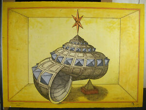 Print-EA-1973-Jorg-Neitzert-Symbolism-Psychanalise-Shell-Palace-Royal