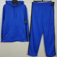 Nike Therma-fit Sweatsuit Hoodie Pants Set Royal Blue Grey (size 4xl 3xl)