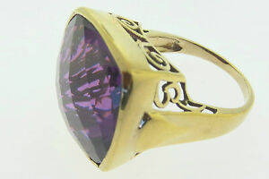 Sajen-Bronze-Ring-by-Marianna-and-Richard-Jacobs-Square-Shape-Purple-Quartz