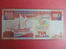 $10 Ship Singapore Dollar Note G/48 855225